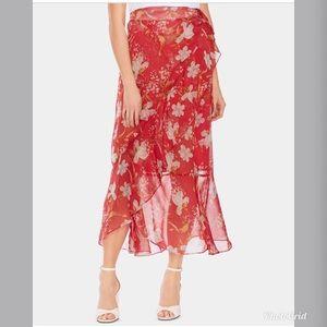 NWT Vince Camuto Floral Wrap Maxi Dress VC189
